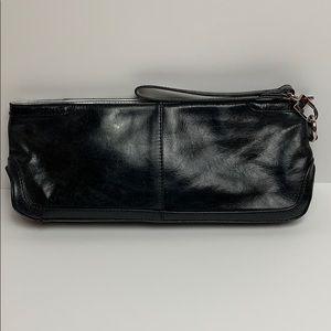 Kenneth Cole Reaction Leather Clutch w/Wrist Strap